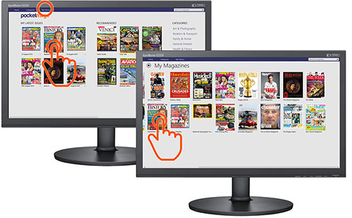 How to read digital magazines 4